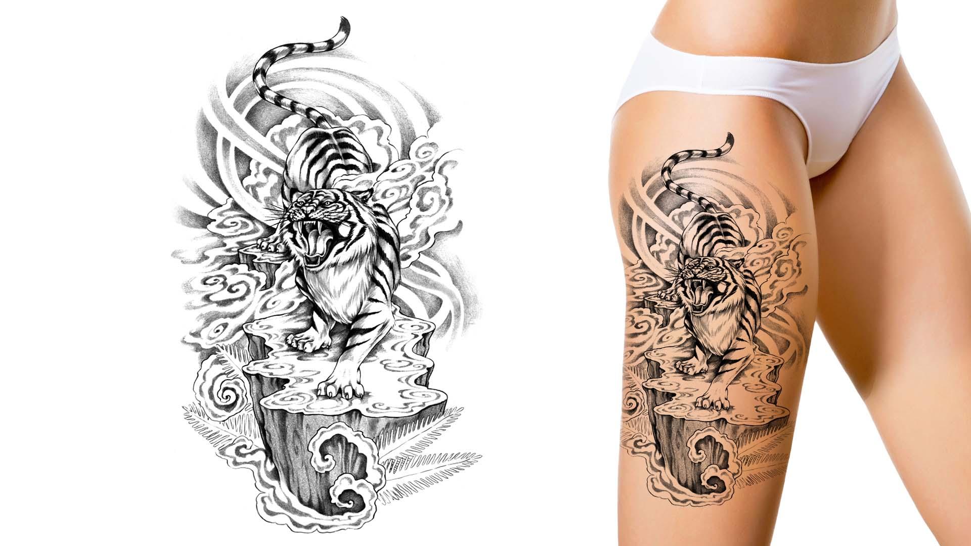 Tattoo design artwork video gallery custom tattoo design - Unique design gallery ...