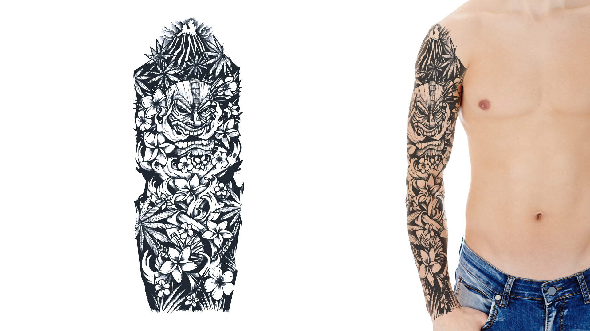 custom tattoo sleeve designs
